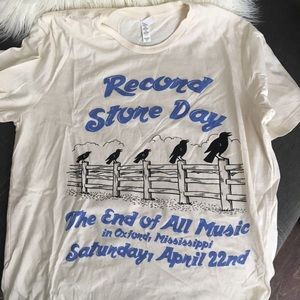 Record Store Day T-shirt - End of All Music | XL